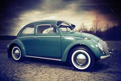 Der häufigste Oldtimer in Deutschland: der VW Käfer (Hier von 1963). Foto: F. Kolja Lenz, pixelio.de