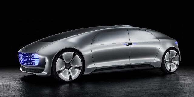 So stellt sich Mercedes das zukünftige, selbstständig fahrende Auto vor. | Foto: Daimler |