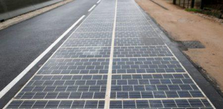 Photovoltaische Straßen