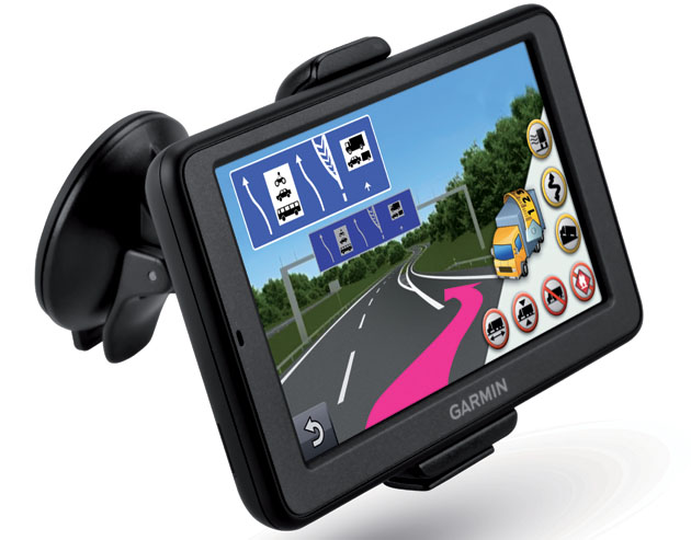 garmin stellt mobiles trucker navi vor atudo. Black Bedroom Furniture Sets. Home Design Ideas