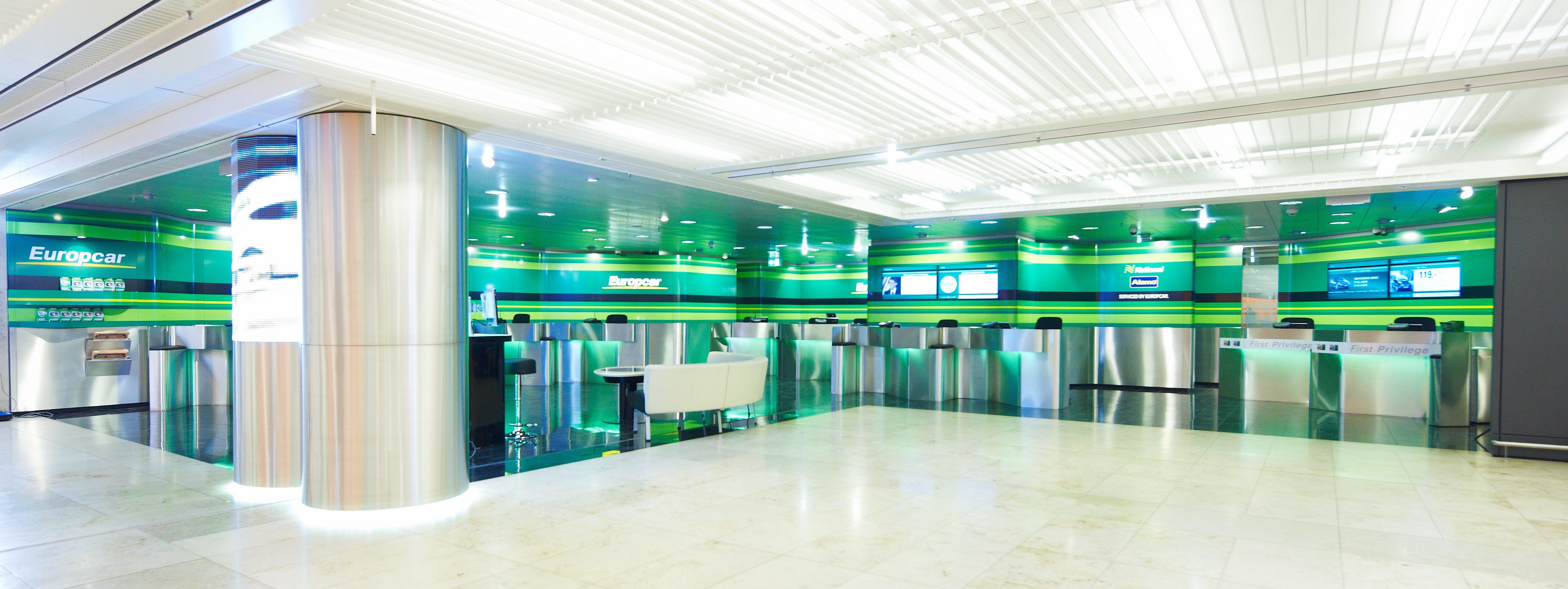 Europcar Station Frankfurt Airport Foto Europcar Atudo