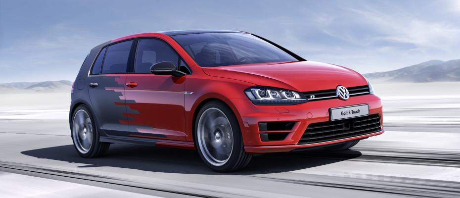 Der neue Golf R Touch. Bild: Volkswagen