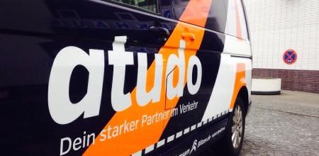 Endlich ist der neue VW T5 von atudo da! Foto: L. Mehlhorn