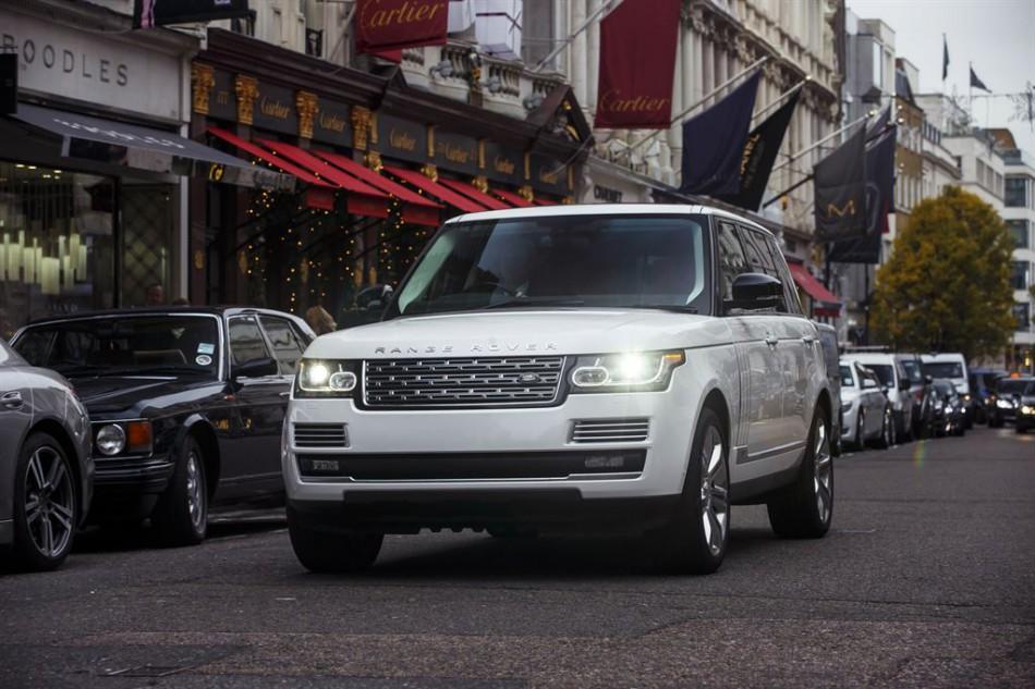 Der Range Rover 3.0 TD von Land Rover ist das relativ meistgeklaute Auto. | Foto: Land Rover | <a