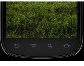 Bsp.: 4-Tasten-Smartphone: Zurück, Menü, Suche, Home