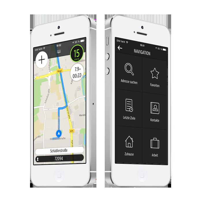 atudo Gratis Navigation - kinderleicht und einfach zu bedienen