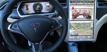 Tesla-Fahrer