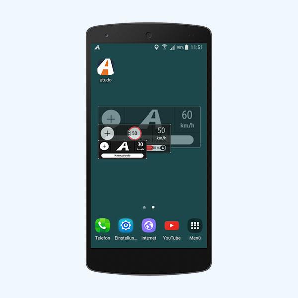 atudo Infofenster für Android