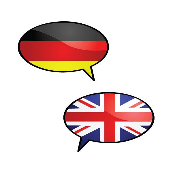 atudo unterstützt Deutsch und Englisch