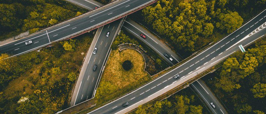 Überwachung auf der Autobahn