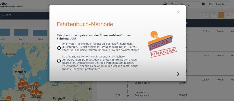 atudo Fahrtenbuch-Methode